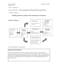 behavior support plan template. Behavior Support Plan Template Behavior Support Plan Template