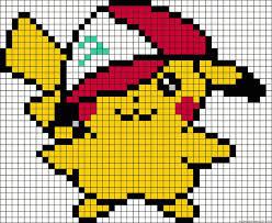 Eventuellement le fichier ecran.css doit gérer les différents types. Pixel Art A Imprimer Pokemon