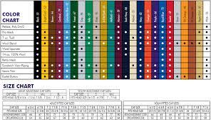 Delong Jacket Size Chart Custom Headwear
