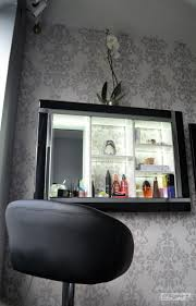 dressing table lighting. beauty organiser make up storage display frame cabinet with led lighting u0026 diamante trim modern day dressing tabledisplay table