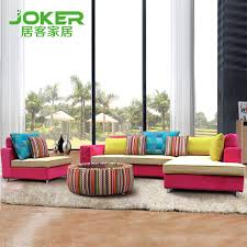Living off large living room with sofa combination fashion mix color sofa  corner sofa B021 Specials