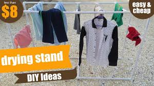 pvc clothes drying rack or stand pvc pipe project pvc pipes diy ideas how to make drying rack
