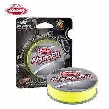 Us 21 59 8 Off Berkley Nanofil 150yd 137m Hi Vis Chart Fishing Line Uni Filament Casting Line High Strength Diameter Ratio Spinning Reel Pesca In