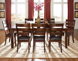chairs pertaining to brilliant design 9 piece dining room table sets clever pieces all in brilliant traditional dining room