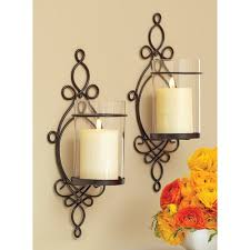 home wall lighting. Better Homes And Gardens Ironwork Loop Wall Sconces, 2pk. Candle Decorative Sconces. Home Lighting D
