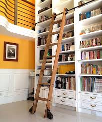 8 clever ways to use a rolling library ladder all over the house cs hardware blog