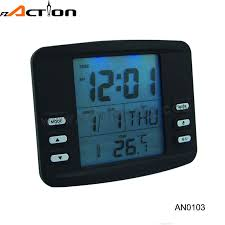 durable special fashionable design battery operated digital clock