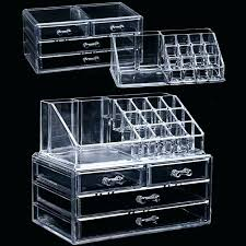 clear makeup storage drawers acrylic transpa makeup organizer storage bo make up for cosmetics brush home