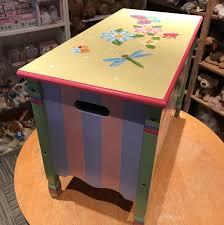 teamson magic garden toy chest