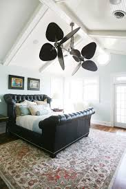 cool ceiling fans ideas. Innovative Tufted Sleigh Bedin Bedroom Traditional With Exquisite Cathedral Ceiling Fan Next To Gorgeous Painting Rooms Ceilings Alongside Cool Fans Ideas C