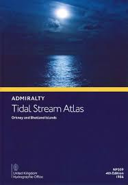 Admiralty Tidal Stream Atlas Np209 Orkney And Shetland