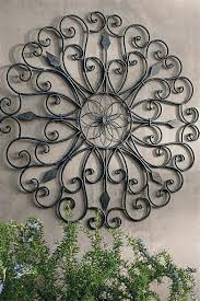 inspirations of metal large outdoor wall art plaques uk