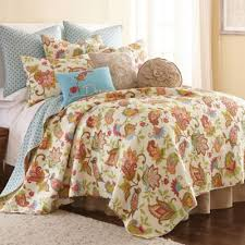 Buy Red Blue Quilt Set from Bed Bath & Beyond & Levtex Home Ansley Reversible Full/Queen Quilt Set in Cream/Red Adamdwight.com