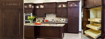 Java Stain Kitchen Cabinets Jk Shaker Door Style Java Color Kitchen Bath Cabinets