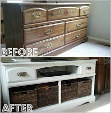 furniture repurpose. Old-drawer-stand-TV Furniture Repurpose