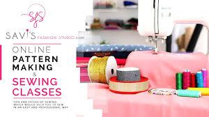 Pattern Making Classes Impressive Savi's Fashion Studio Online Pattern Making Sewing Classes YouTube