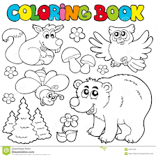 Stock Photo Coloring Popular Coloring Book Animals Coloring Page