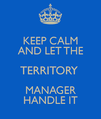 keep calm and let the territory manager handle it poster  sylvia  keep calm and let the territory manager handle it