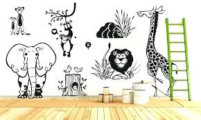 jungle wall stickers