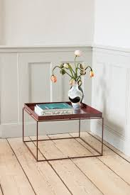 hay tray table large chocolate