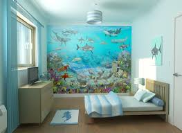 image of beach themed wall decals design