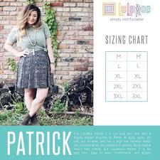Lularoe Patrick T Size Chart Style Me With Lularoe Jillian And Brandy