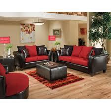 red living room sets. Flash Furniture Riverstone Victory Lane Cardinal Microfiber Black Red Living Room Set Sets D