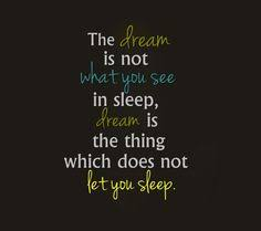 Dream And Sleep Quotes