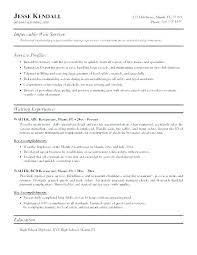 Bartending Resume Skills New Bartender Resume Experienced Bartender ...