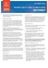 Company Fact Sheet Sample Avcal Fact Sheets