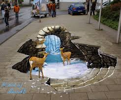 the art gallery 20 3d street art with how to make a 3d painting ideas