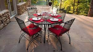 outdoor cushions for wrought iron