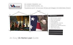 Get Va Loan From The Best Government Home Loan Company By