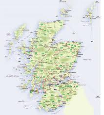 roadmap of scotland – scotland info guide