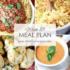 Sweet clams, smokey bacon bits, and tender potato chunks sit in a thick savory broth. Let S Dish Easy Meal Plan Week 18 Let S Dish Recipes