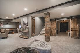 Unfinished Basement Design Property Cool Decorating Ideas