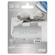 visa gift card 20 500 card