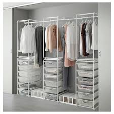 Furniture Best Clothes Storage System Are Ideal For Cluttered Ikea Closet Organizer Algot