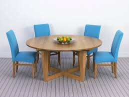 brunel round extending dining table