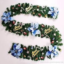 Kränze Girlanden Weihnachten 2 7 Meter Hängende Ornamente