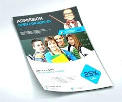 Education Brochure Templates School Brochure Template Naomijorge Co