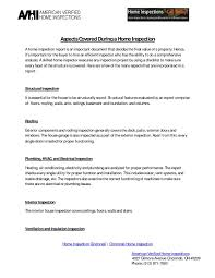 Project Inspectionist Report Format Construction Forms Form