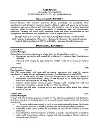 Operations Manager Resume Template Gorgeous General Operations Manager Resume Template Premium Resume Samples