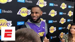 Lebron James Lakers Are A Respected Organization And We Wanna Get It Back To That Espn