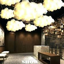cloud ceiling light cloud chandelier bamboo ceiling light design decoration fans en cloud fan small with