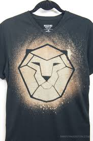 How To Make Shirt How To Make A Bleached Game Of Thrones Shirt Simply Made Fun