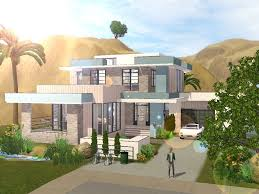 Small Picture Modern House Plans Sims 4 Homeca