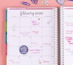 Monthly Academic Calendar Academic Planners Academic Year Planner Erin Condren