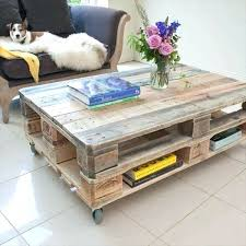 diy industrial furniture. Diy Industrial Furniture Pallet Coffee Table With Wheels And U F