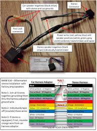 stereo wiring help please rh bimmerforums com bmw car radio stereo audio wiring diagram 2009 nissan titan stereo wiring